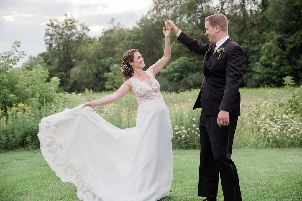 Wisconsin Wedding Couple