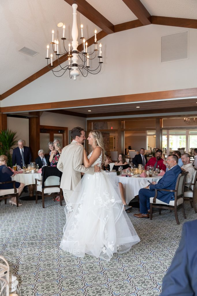 First dance at Chenequa country club