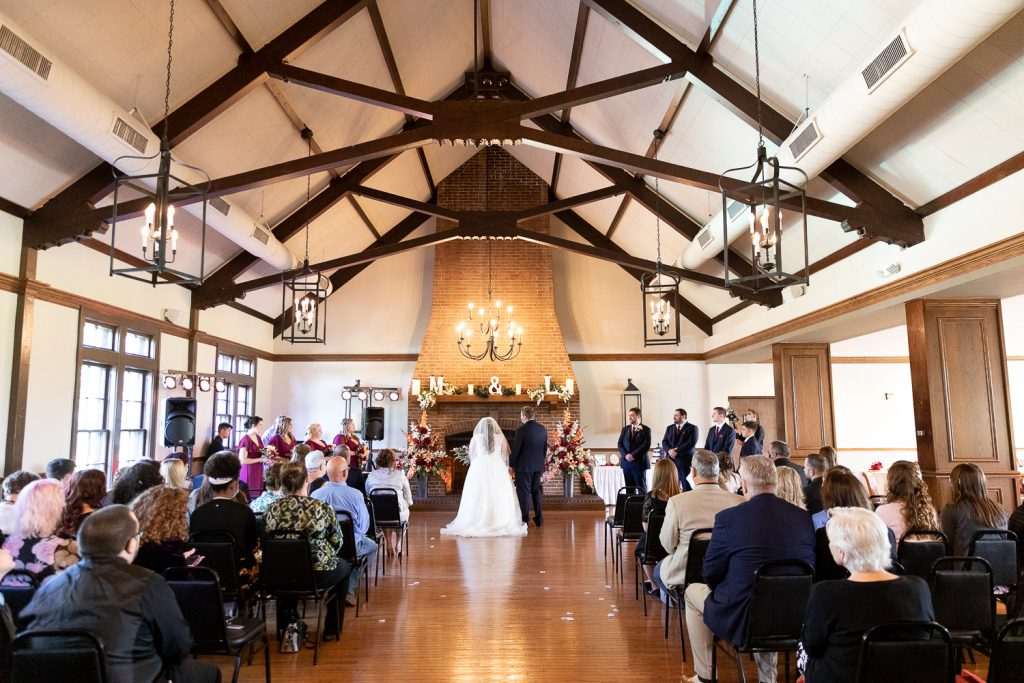 Wedding Ceremony at meadowbrook country club
