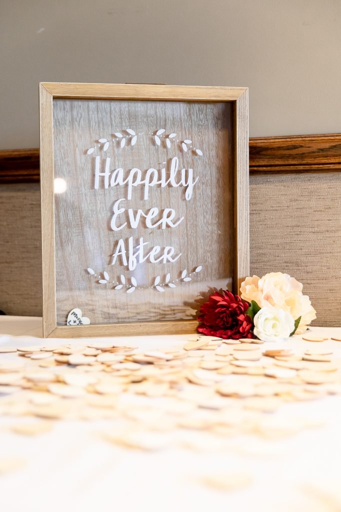 Wedding details at Meadowbrook Country Club