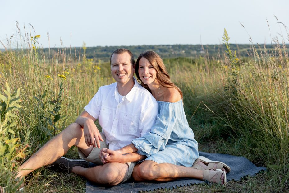 Engagement Photos at Retzer Nature Center