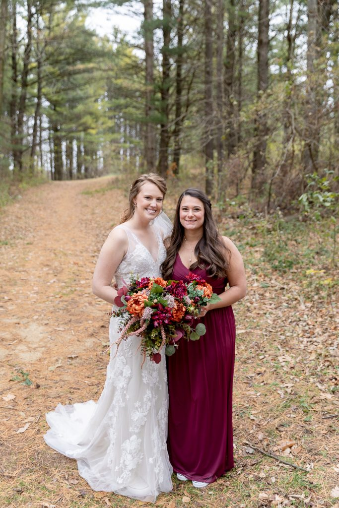 Wedding Party Photos at Wildcat mountain State Park