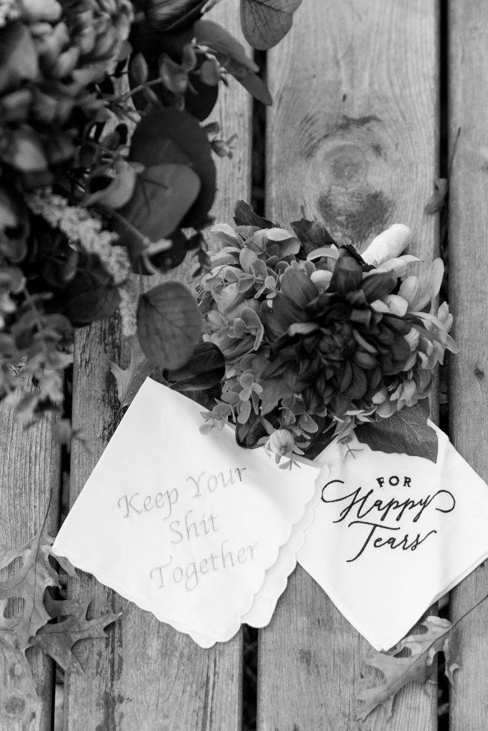 Wedding Details at Wisconsin Intimate Wedding