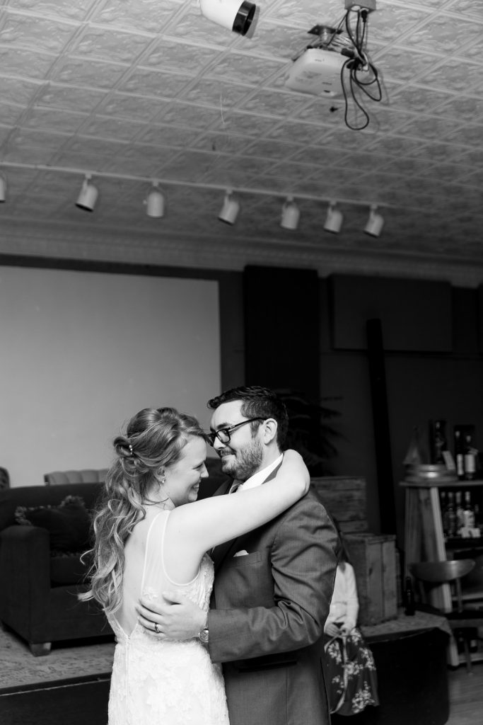 Wedding Reception at Rooted Spoon Viroqua