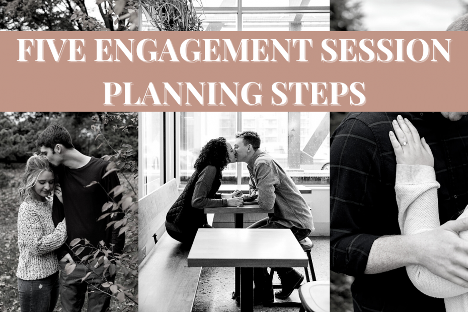 FIVE ENGAGEMENT SESSION PLANNING STEPS